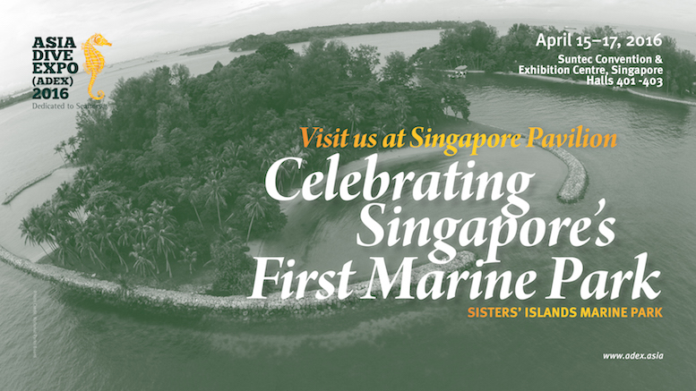ADEX website banner (marine park)