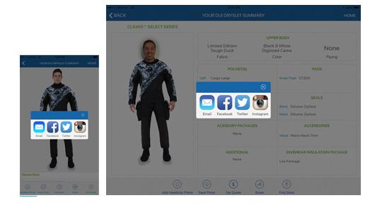 Drysuit app
