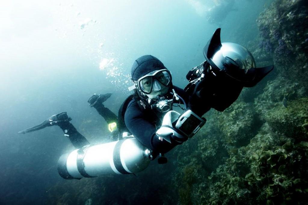 Y.Zin's highlight - underwater side-mount