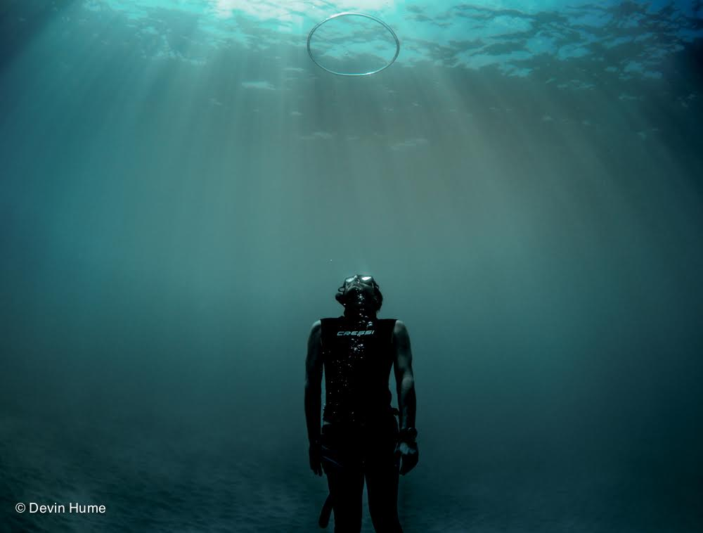"""My main effort is to always link freediving with pleasant thoughts and enjoyment."""