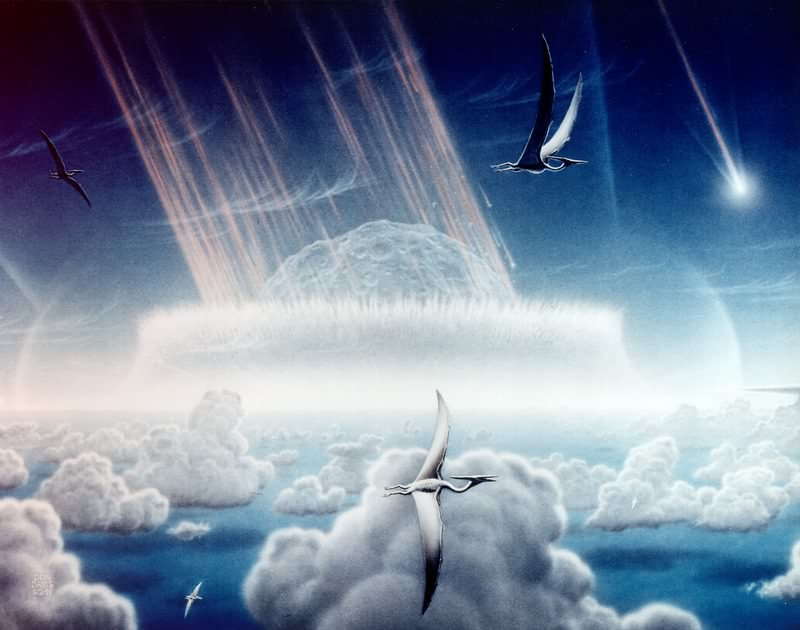 Supposed Cretaceous–Paleogene extinction event © Wikimedia Commons