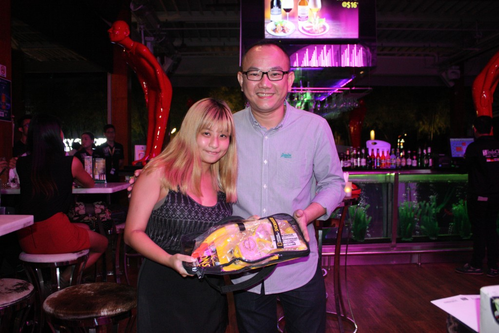 Third prize awarded by IndoChine General Manager Jeremy Lim